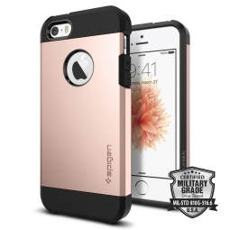 SPIGEN TOUGH ARMOR IPHONE 5S/SE ROSE GOLD