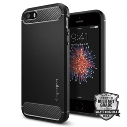 SPIGEN RUGGED ARMOR IPHONE 5S/SE BLACK