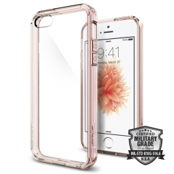 SPIGEN ULTRA HYBRID IPHONE 5S/SE ROSE CRYSTAL
