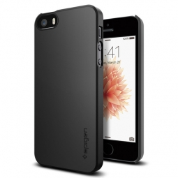 SPIGEN THIN FIT IPHONE 5S/SE BLACK