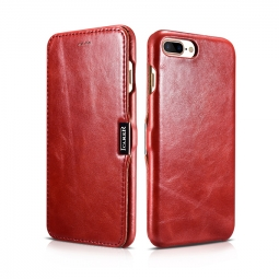 ICARER VINTAGE IPHONE 7/8 PLUS RED