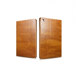 ICARER XOOMZ VINTAGE IPAD AIR 2 LIGHT BROWN