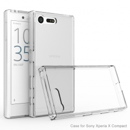 TECH-PROTECT SLIM HYBRID XPERIA X COMPACT CRYSTAL