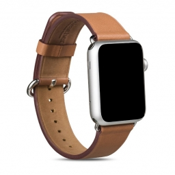 HOCO ART LEATHER APPLE WATCH 1/2/3 (42MM) BROWN