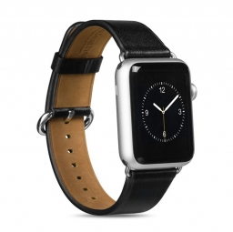 HOCO ART LEATHER APPLE WATCH 1/2/3 (42MM) BLACK