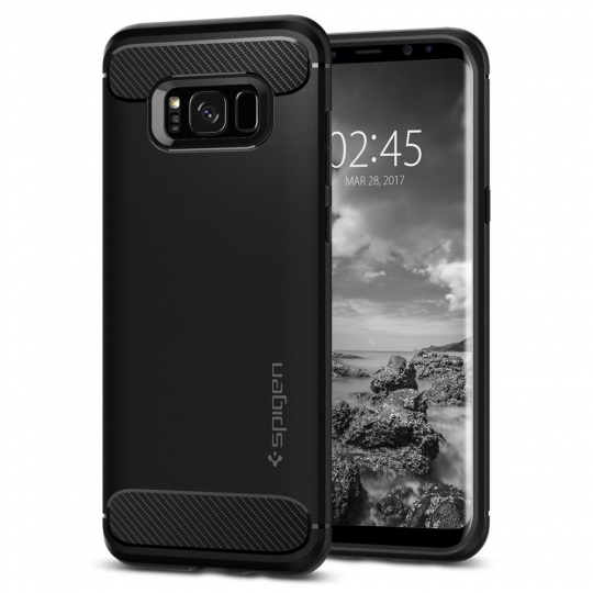 SPIGEN SGP RUGGED ARMOR GALAXY S8 BLACK