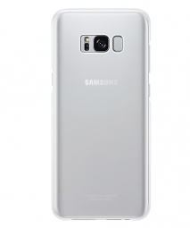 SAMSUNG CLEAR COVER GALAXY S8+ PLUS SILVER