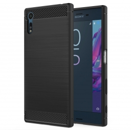 TECH-PROTECT TPUCARBON XPERIA XZ BLACK