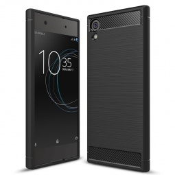 TECH-PROTECT TPUCARBON XPERIA XA1 BLACK