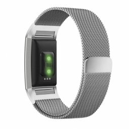TECH-PROTECT MILANESEBAND FITBIT CHARGE 2 SILVER