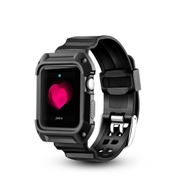 TECH-PROTECT SPORTY APPLE WATCH 1/2/3 (42MM) BLACK