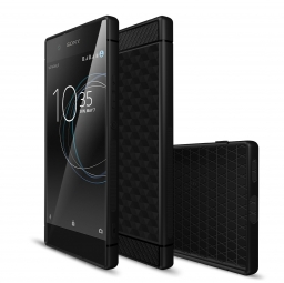 TECH-PROTECT GEOMETRY CARBON XPERIA XA1 BLACK