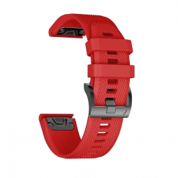 TECH-PROTECT SMOOTH GARMIN FENIX 5S (20MM) RED