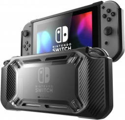 SUPCASE MUMBA RUGGED NINTENDO SWITCH BLACK