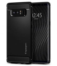 SPIGEN RUGGED GALAXY NOTE 8 MATTE BLACK