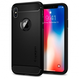 SPIGEN RUGGED ARMOR IPHONE X/10 MATTE BLACK
