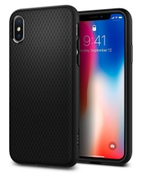 SPIGEN LIQUID AIR IPHONE X/10 MATTE BLACK