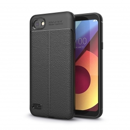 TECH-PROTECT TPULEATHER LG Q6 BLACK