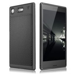 TECH-PROTECT TPULEATHER SONY XPERIA XZ1 COMPACT BLACK