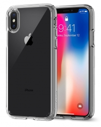 SPIGEN ULTRA HYBRID IPHONE X/10 CRYSTAL CLEAR