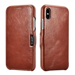 ICARER VINTAGE IPHONE X/10 BROWN