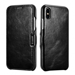 ICARER VINTAGE IPHONE X/10 BLACK