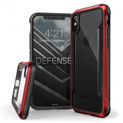 X-DORIA DEFENSE SHIELD IPHONE X/10 RED