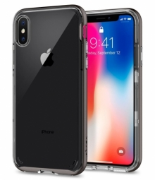 SPIGEN NEO HYBRID CRYSTAL IPHONE X/10 GUNMETAL