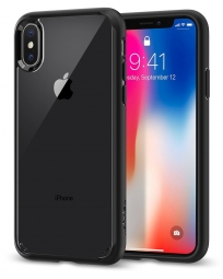 SPIGEN ULTRA HYBRID IPHONE X/10 MATTE BLACK