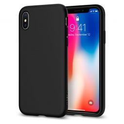 SPIGEN LIQUID CRYSTAL IPHONE X/10 MATTE BLACK