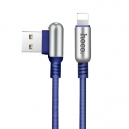 HOCO U17 LIGHTNING CABLE 200CM BLUE