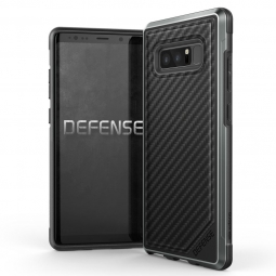 X-DORIA DEFENSE LUX GALAXY NOTE 8 BLACK CARBON