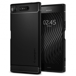 SPIGEN RUGGED ARMOR SONY XPERIA XZ1 BLACK