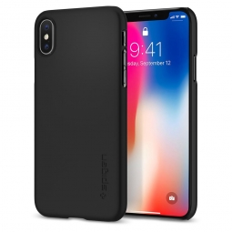 SPIGEN THIN FIT IPHONE X/10 MATTE BLACK