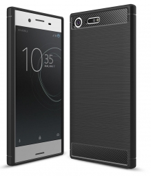 TECH-PROTECT TPUCARBON SONY XPERIA XZ1 BLACK