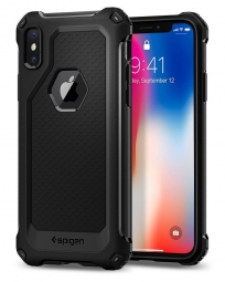 SPIGEN RUGGED ARMOR EXTRA IPHONE X/10 BLACK