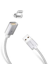 ELOUGH E04 MAGNETIC LIGHTNING CABLE 100CM SILVER