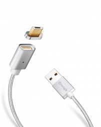 ELOUGH E04 MAGNETIC MICRO USB CABLE 100CM SILVER