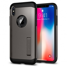 SPIGEN SLIM ARMOR IPHONE X/10 GUNMETAL