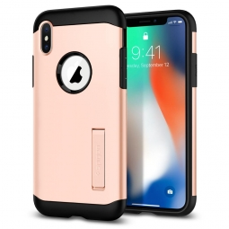 SPIGEN SLIM ARMOR IPHONE X/10 BLUSH GOLD