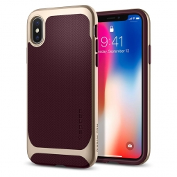 SPIGEN NEO HYBRID IPHONE X/10 BURGUNDY