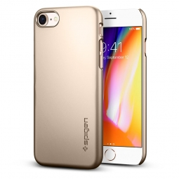 SPIGEN THIN FIT IPHONE 7/8 CHAMPAGNE GOLD