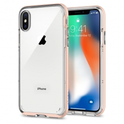 SPIGEN NEO HYBRID CRYSTAL IPHONE X/10 BLUSH GOLD
