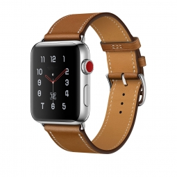 TECH-PROTECT HERMS APPLE WATCH 1/2/3 (42MM) BROWN