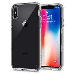 SPIGEN NEO HYBRID CRYSTAL IPHONE X/10 SATIN SILVER