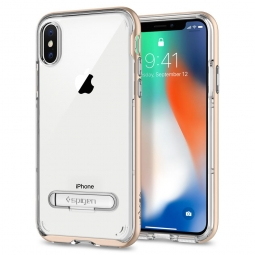 SPIGEN CRYSTAL HYBRID IPHONE X/10 CHAMPAGNE GOLD