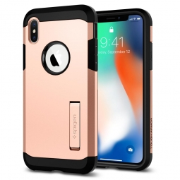 SPIGEN TOUGH ARMOR IPHONE X/10 BLUSH GOLD