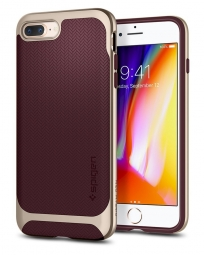 SPIGEN NEO HYBRID HERRINGBONE IPHONE 7/8 PLUS BURGUNDY