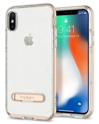 SPIGEN CRYSTAL HYBRID IPHONE X/10 GLITTER GOLD