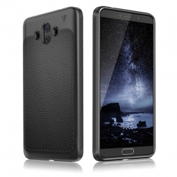 TECH-PROTECT TPULEATHER  HUAWEI MATE 10 PRO BLACK